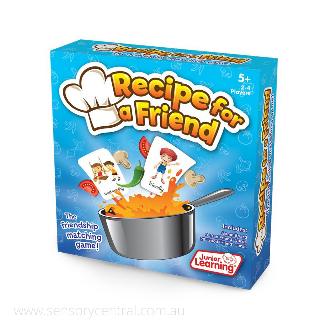 Recipe For A Friend Game - Game