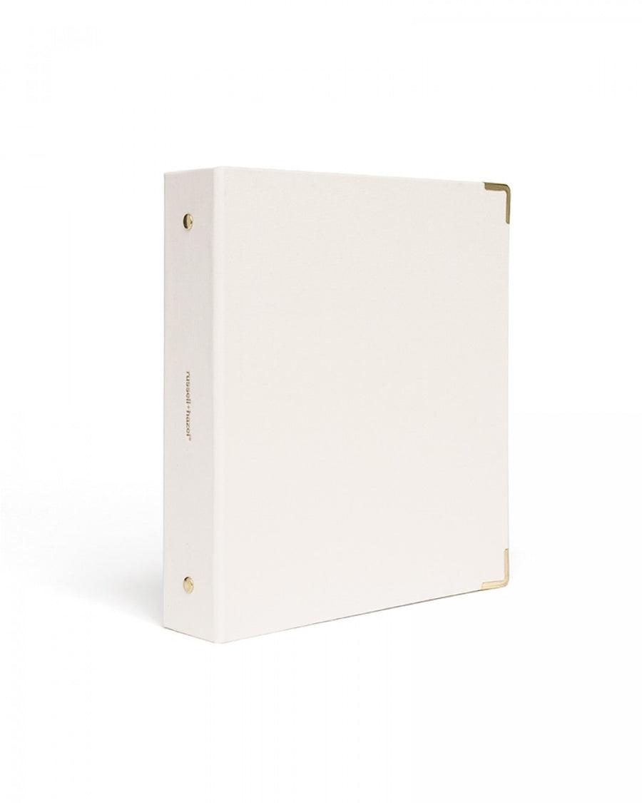 Pearl backcloth mini 3 ring binder