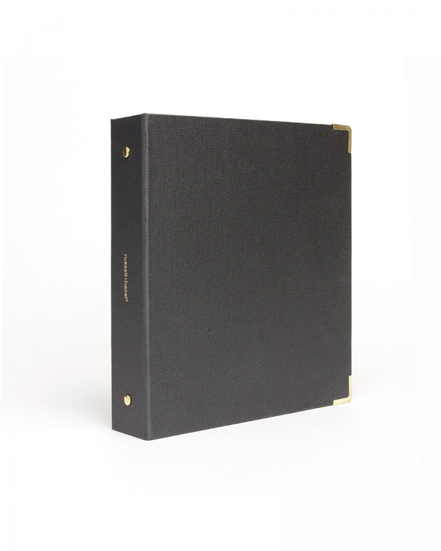 Onyx backcloth mini 3 ring binder