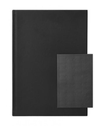 A4 vegan leather hardcover journal