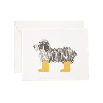 Shaggy Dog Card