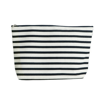 Pin Stripe Cosmetic Bag