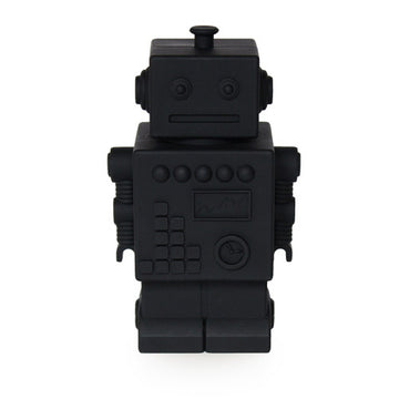 Robot Money bank black