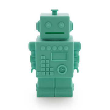 Robot Money bank green