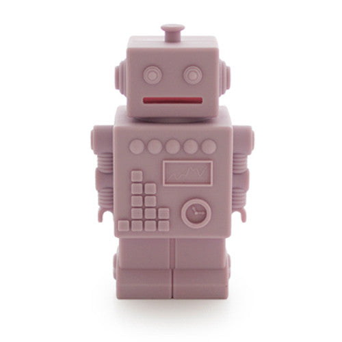 Robot Money bank pink