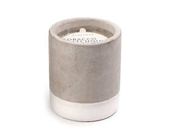 Mini Urban concrete candle - Tobacco & Patchouli