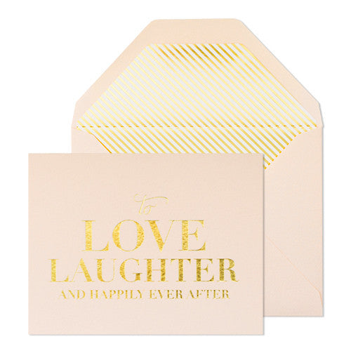 Love Laughter Card