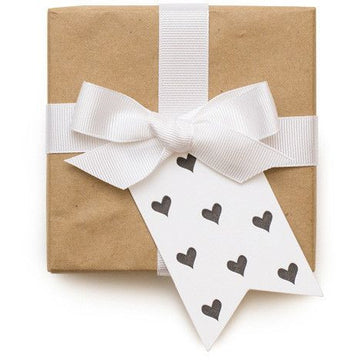 Black Hearts Gift Tag