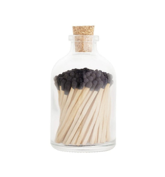 Black Matchstick jar