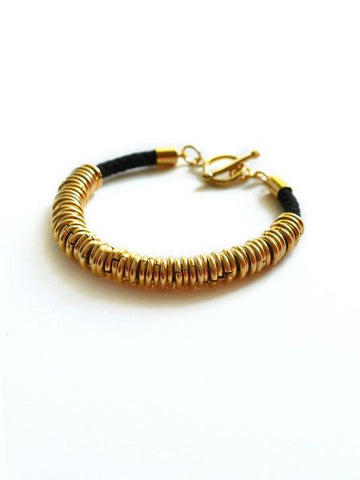 Cords and Rings Bracelet