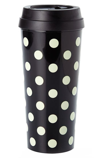 Gold Dots Thermal Mug