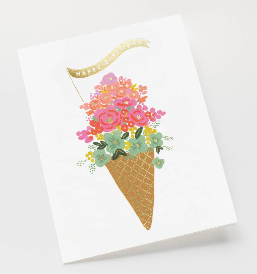 Ice Cream Birthday Card