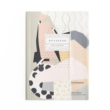 A5 Graphic print notebook