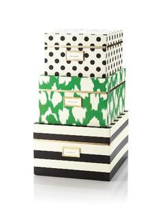 kate spade new york® nesting boxes