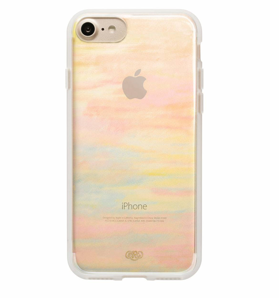Clear Watercolor iPhone 7/7+ case