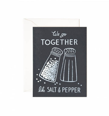 Salt & Pepper Card