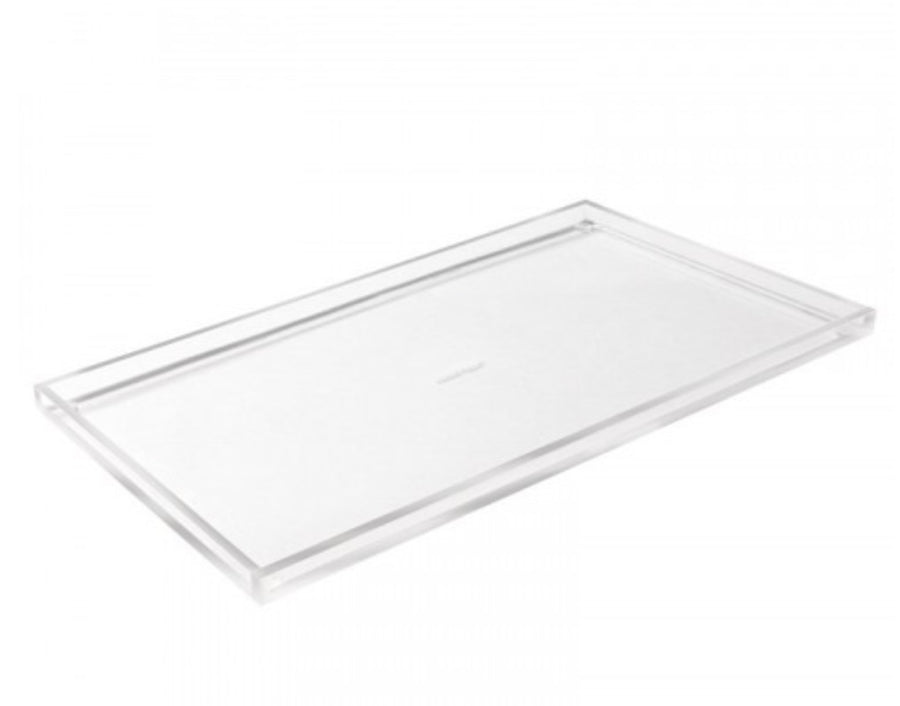 Acrylic bloc tray wide