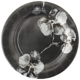 Black Orchid Fine Paper Dinner Plates