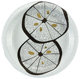 Lemonwood Fine Paper Dinner Plates