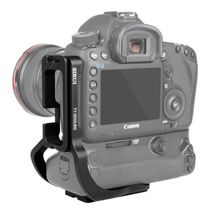 SIRUI TY-5DIIILBG L-rail for Canon EOS 5D Mark III and 5DS R with battery grip - TYL series