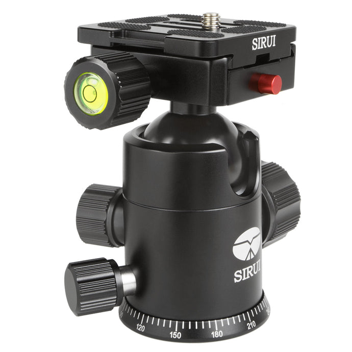SIRUI AM-02G Ball head aluminium black (98mm high) - AM series