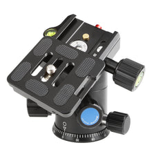 Load image into Gallery viewer, SIRUI AM-02G Ball head aluminium black (98mm high) - AM series