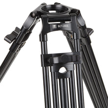 Load image into Gallery viewer, SIRUI BCT-2003 Broadcast - Video Tripod Aluminium Black - 75mm Halfbowl - BCT-Serie