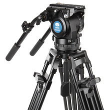 Load image into Gallery viewer, SIRUI BCH-20 Broadcast Video Tilt Head, 75mm Halfball - BCH Series