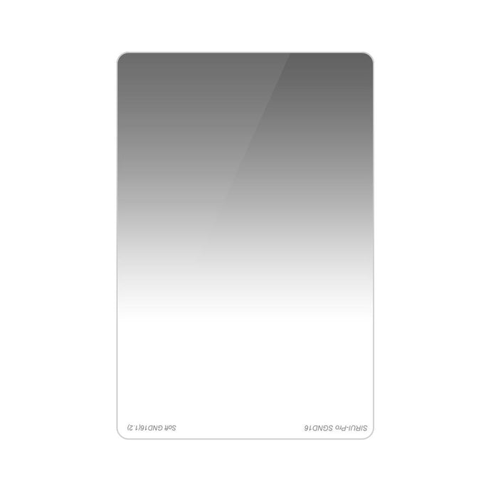 SIRUI SGND16 (1.2) Rectangular Gray Graduated Filter Soft 100x150mm (4 stops)