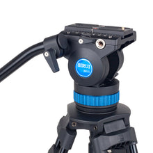 Load image into Gallery viewer, SIRUI AM-25S Broadcast Tripod with Video Head - AM Series
