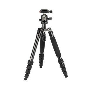 SIRUI Traveler 5AX Travel Tripod Aluminium black with Ball Head B-00K