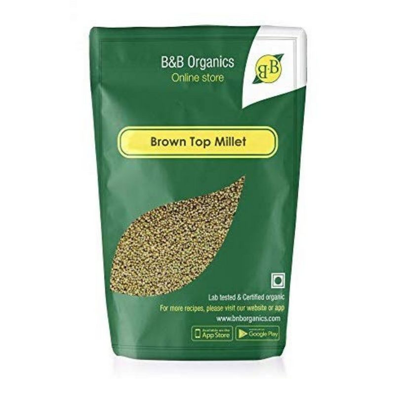 B&B Organics Brown Top Millet, 500gms