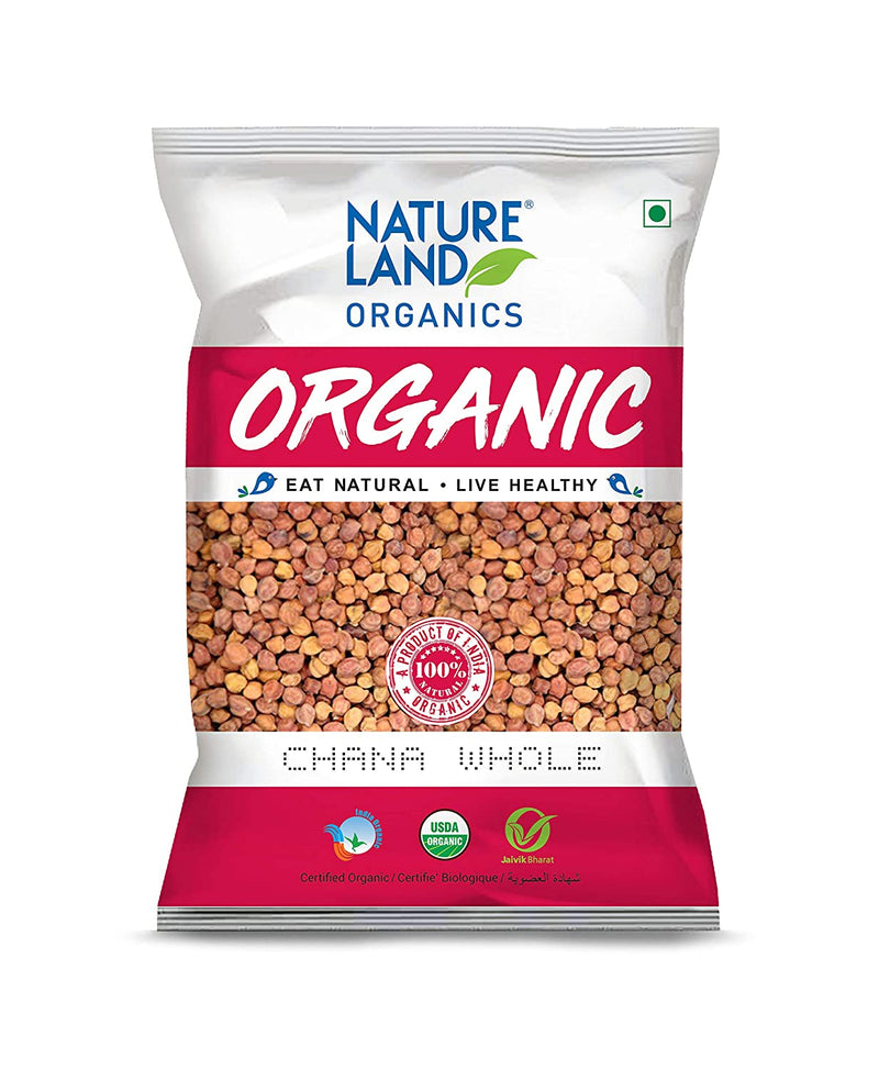 Natureland Organics Brown Channa(bengal gram) 500gms