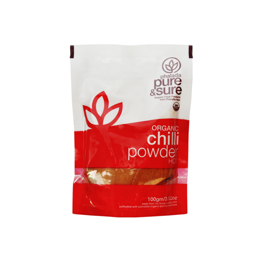 Pure & Sure Organic Chilli Powder, 100gms