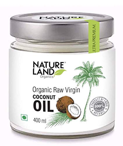 Natureland Organics Raw Virgin Coconut Oil 400ml