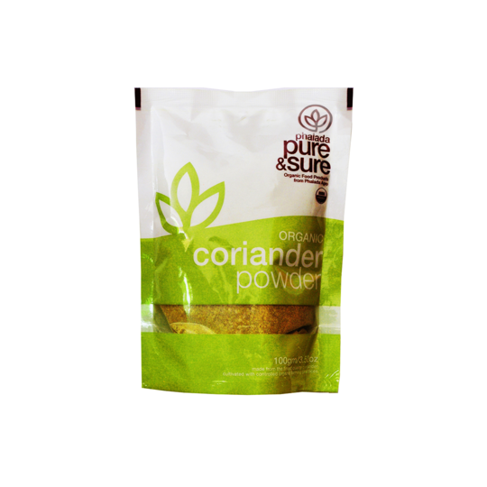 Pure & Sure Organic Coriander Powder, 100gms