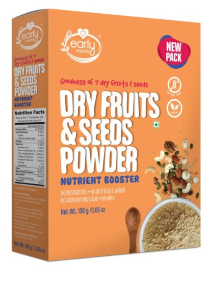 Early Foods  Dry Fruit & Seeds Powder for Kids 100g
