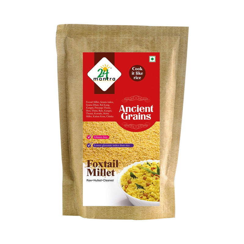 24 Mantra Organic Foxtail Millet, 500gms