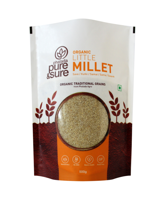 Pure & Sure Organic Little Millet,500gms