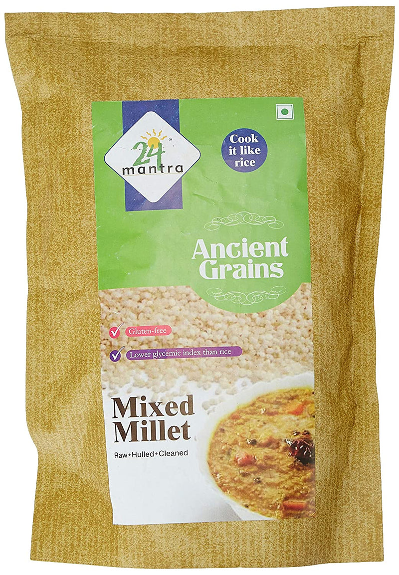 24 Mantra Organic Mixed Millet, 500gms