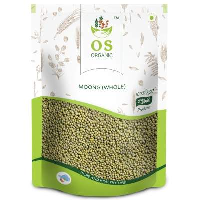 Orgasatva Green Moong Whole, 1Kg