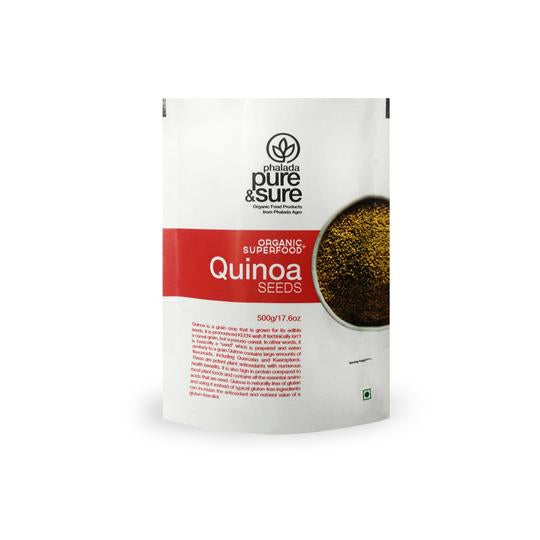 Pure & Sure Organic Quinoa Seeds, 500gms