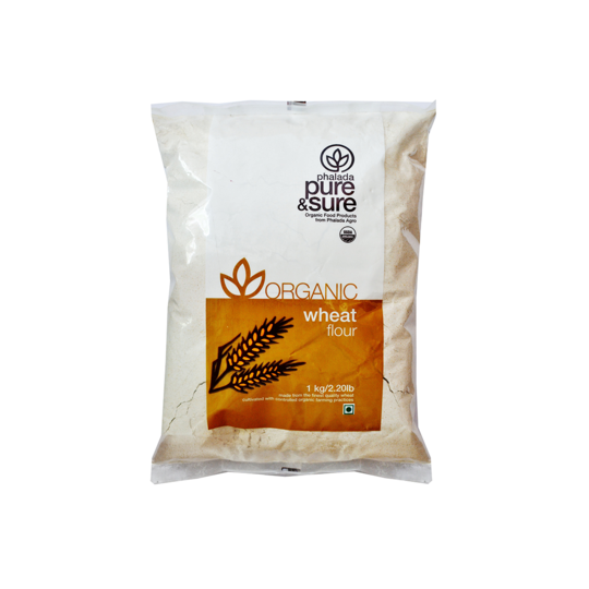 Pure & Sure Organic Wheat Flour, 1kg