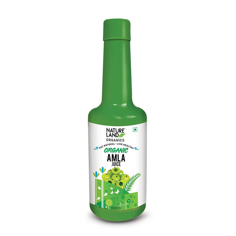 Natureland Organics Amla Juice 500 Ml - Organic Juices
