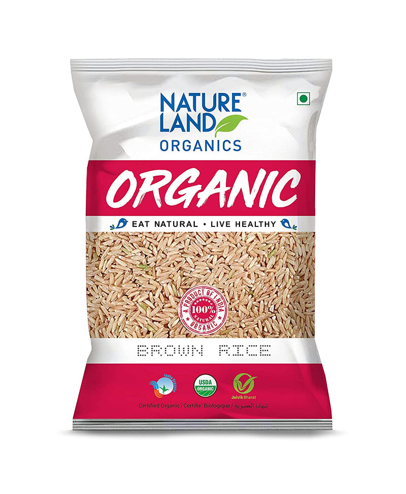 Natureland Organics Brown Rice Premium - 1Kg