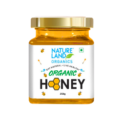 Natureland Organics Pure Honey 250gms