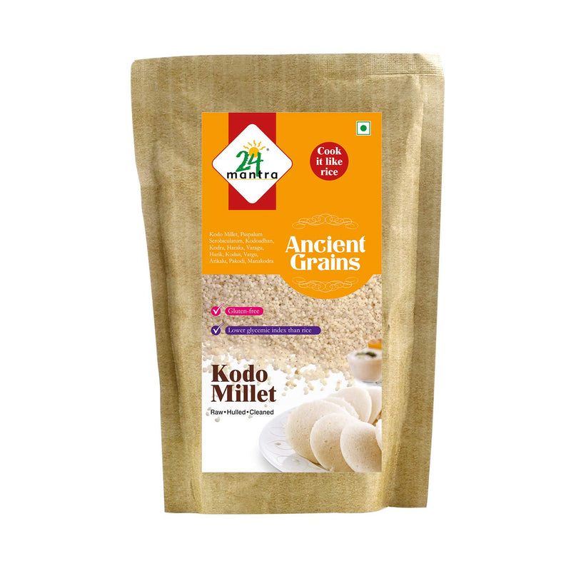 24 Mantra Organic Kodo Millet, Ancient Grains, 500gms