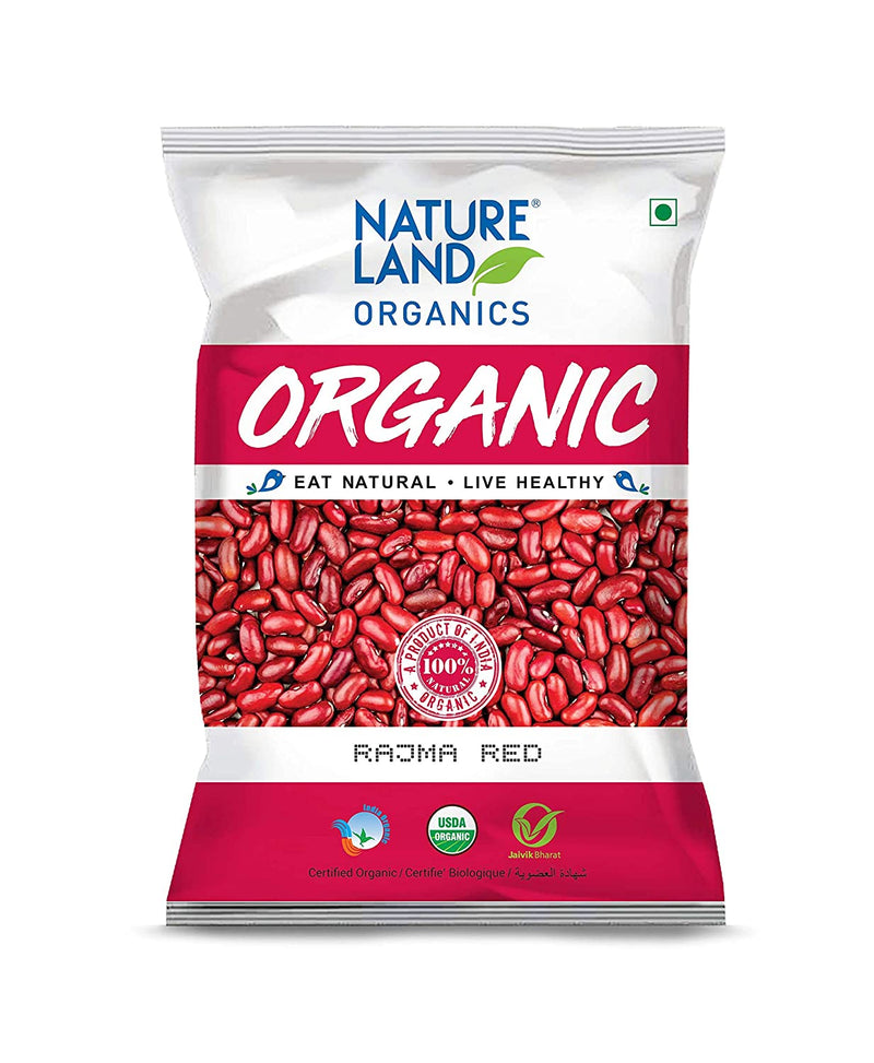 Natureland Organics Red Rajma, 500gms