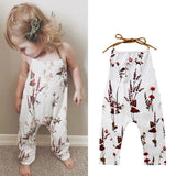 Toddler Floral Backless Romper: Fresh as a Daisy