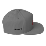 Hoggy D Ent - Flat Bill Cap - Hoggy D. Entertainment